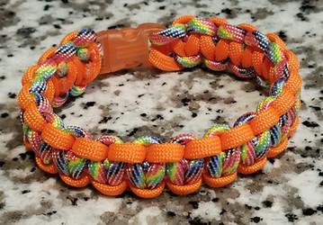 Rainbow with White(Orange)