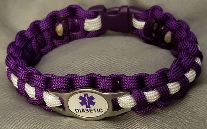 Diabetic - purple charm