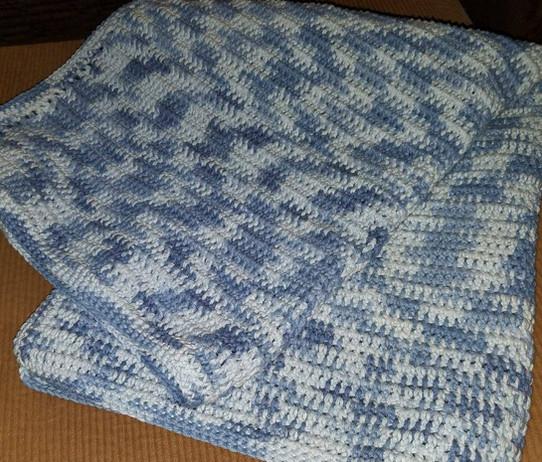 Stroller Blanket - Double Stitch (1)
