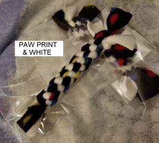 Paw Print & White