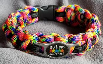 Autism Awareness - black charm