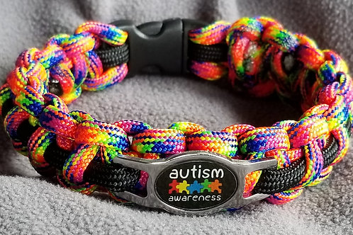 Alert & Awareness Paracord Bracelet