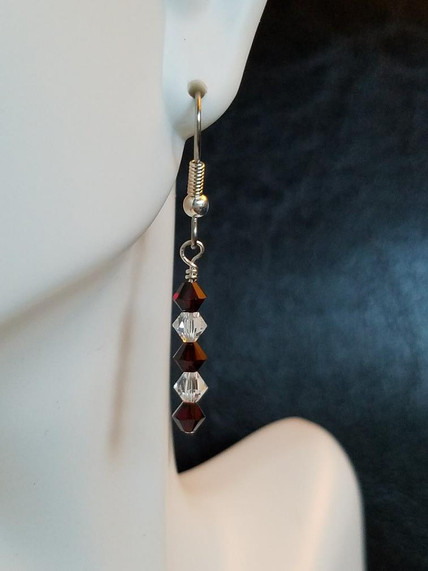 Birthstone Earrings - January