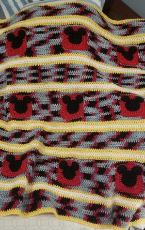 Stroller Blanket - Mouse Ears