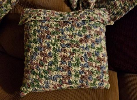 Pillow Cover - Corner to Corner