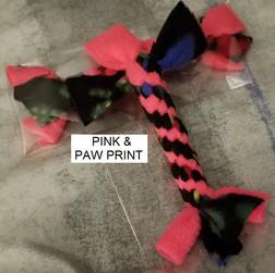 Pink & Paw Print