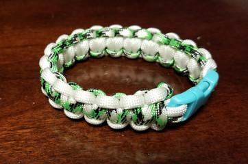 Green Plaid(White)