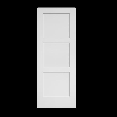 Primed MDF Interior Le Chateau 3 Panel Equal (C30)