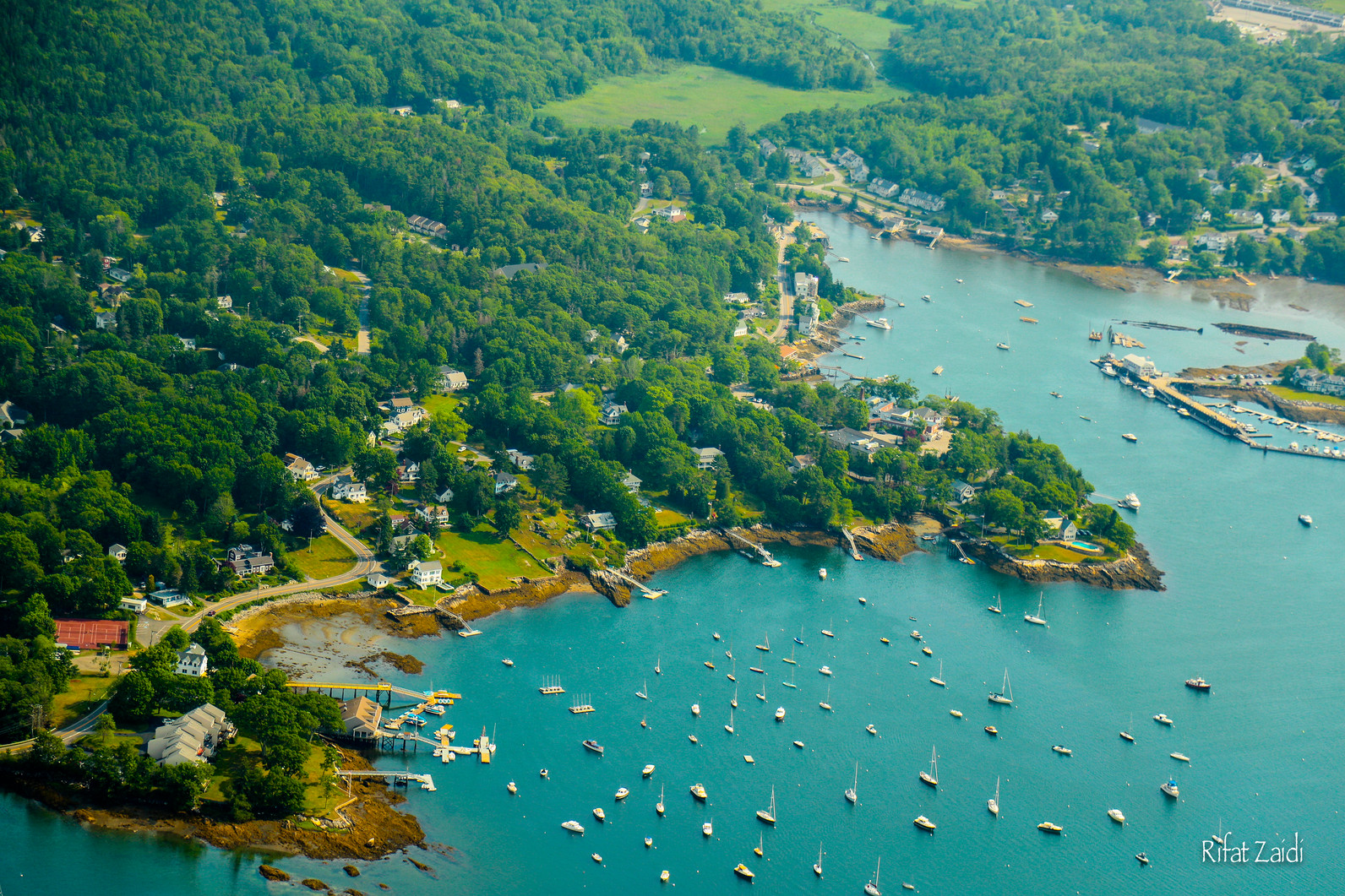 maine coasts in the summers