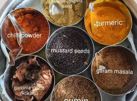 Masala box or spice box