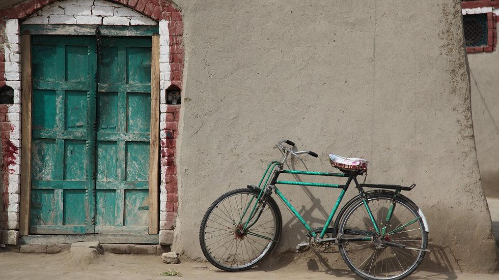 Bike by the door