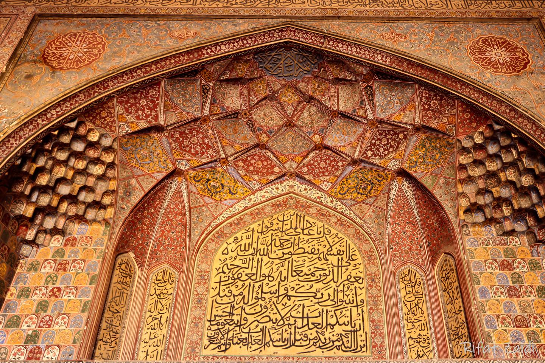 Wazir Khan ceiling 1
