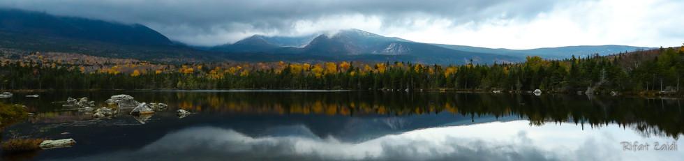 Mount Katahdin from sandy stream pond  AG0I6463.JPG