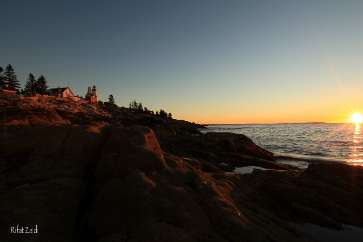 dawn @ Pemaquid