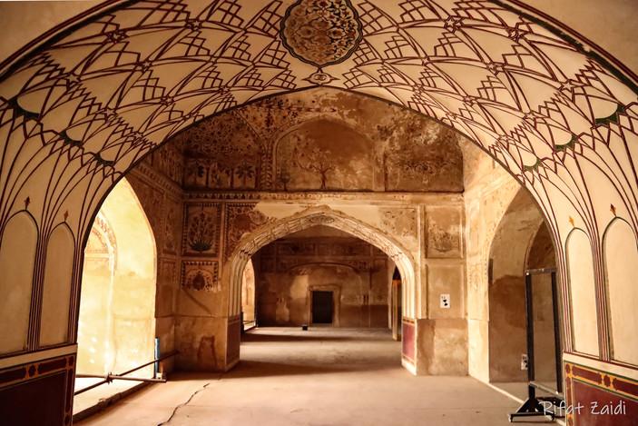 Arches Jehangir Mausoleum