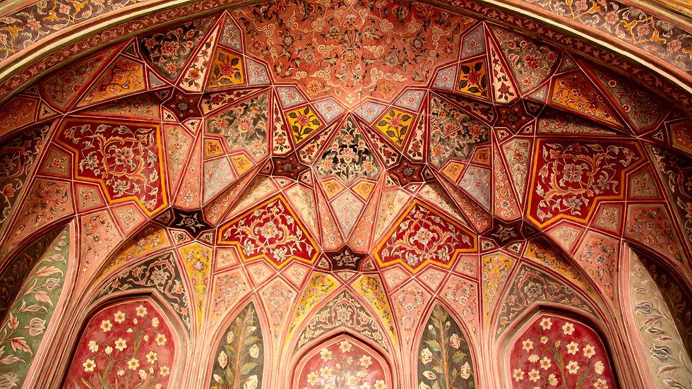 Wazir Khan Ceiling