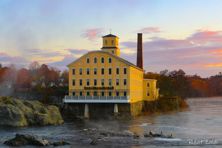 Sea Dog Brewery at sunrise