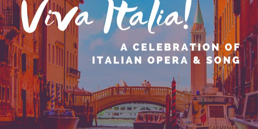 POSTPONED: Viva Italia!