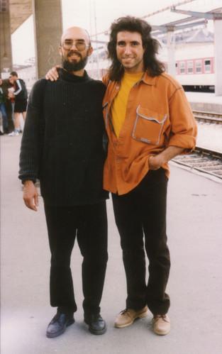 Mit Damyan Wasilev, 1994