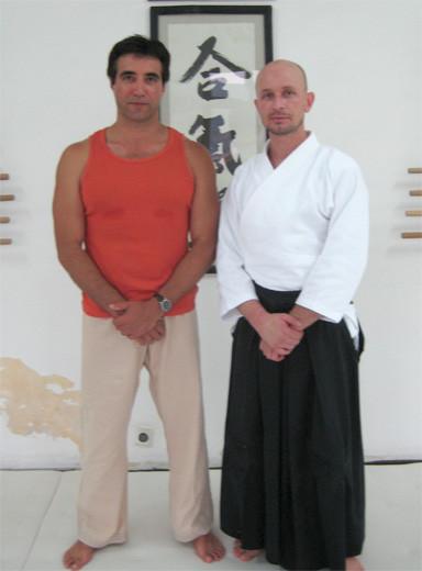Mit Sensei Radostin Marinov, 2008