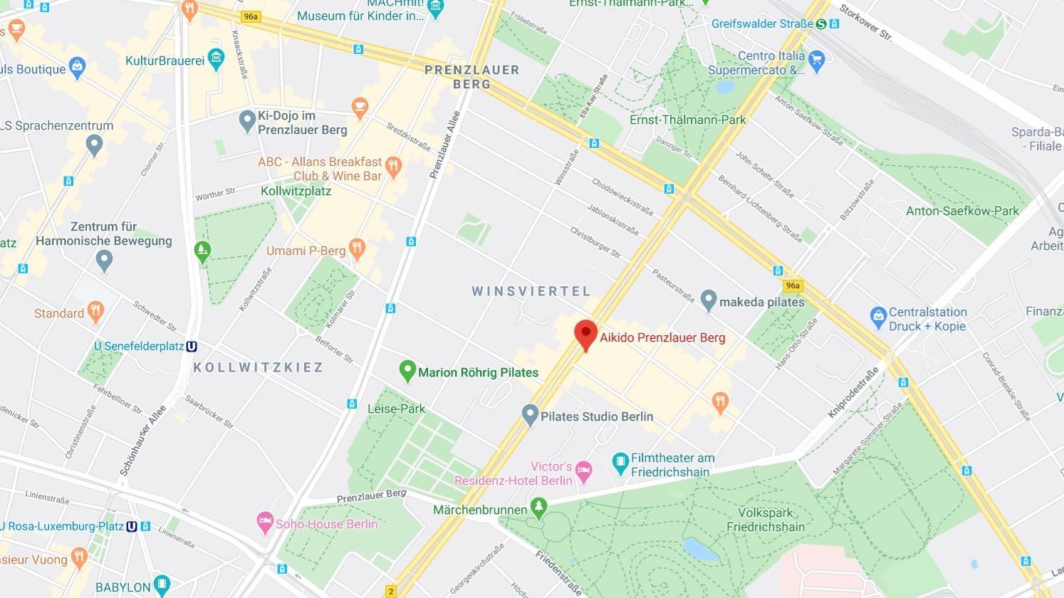 Kursraum AIKIDO Prenzlauer Berg - Google