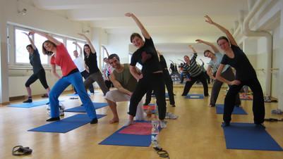 Kursimpressionen Trayanov-Yoga