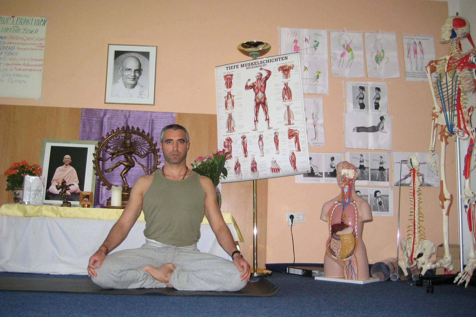 Yogalehrer-Weiterbildung, 2009