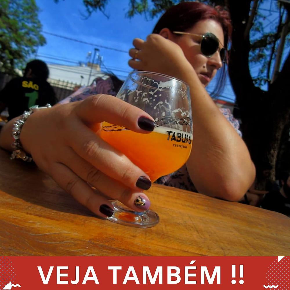 mulher e a cerveja