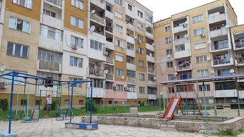 Sliven Wohnviertel