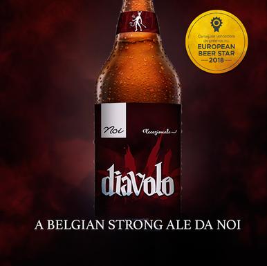 Diavolo, é a nova cerveja da Cervejaria Noi