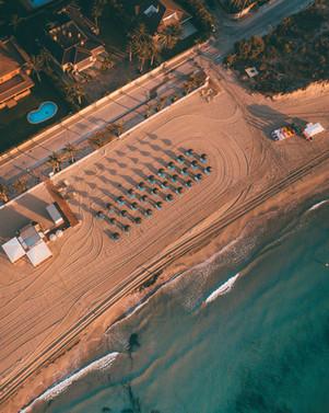 Top Down Spain Beach
