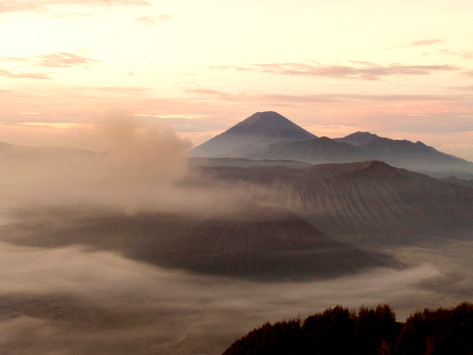 Visiting the Bromo Volcano