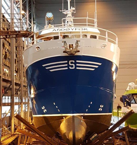 ANDØYFISK, fiskefartøy over 15 meter for salg