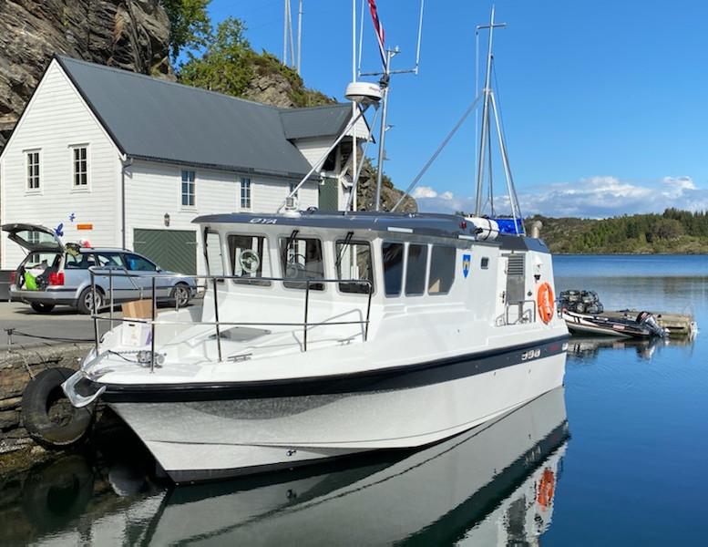 M_S _Øya_, fiskefartøy under 15 meter for salg
