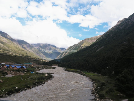 """Chitkul"" - A Masterpiece on the way to cold desert"