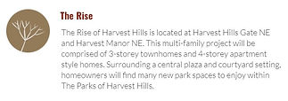 The Rise at the Parks of Harvest Hills