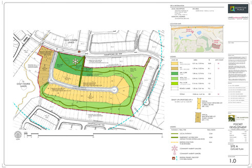 Phase 2 (Site A) Approved Outline Plan