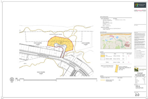 Phase 1 (Site B) Approved Outline Plan