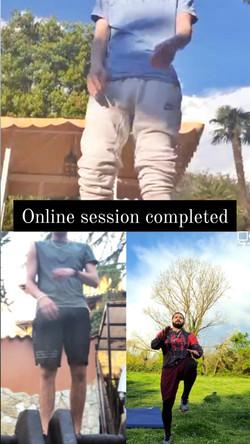 Online session