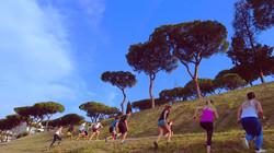Uphill sprint