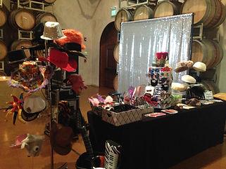 Photo Booth Rental Setup