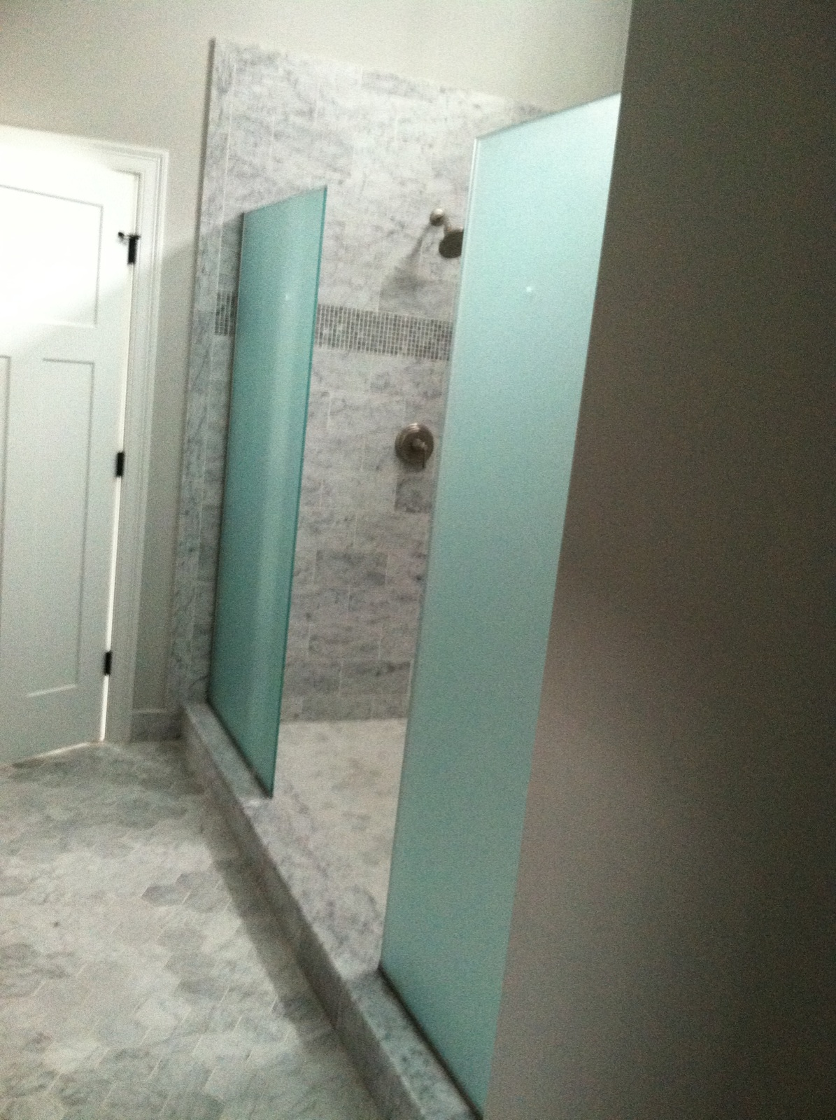 Double Frosted Spray Panels