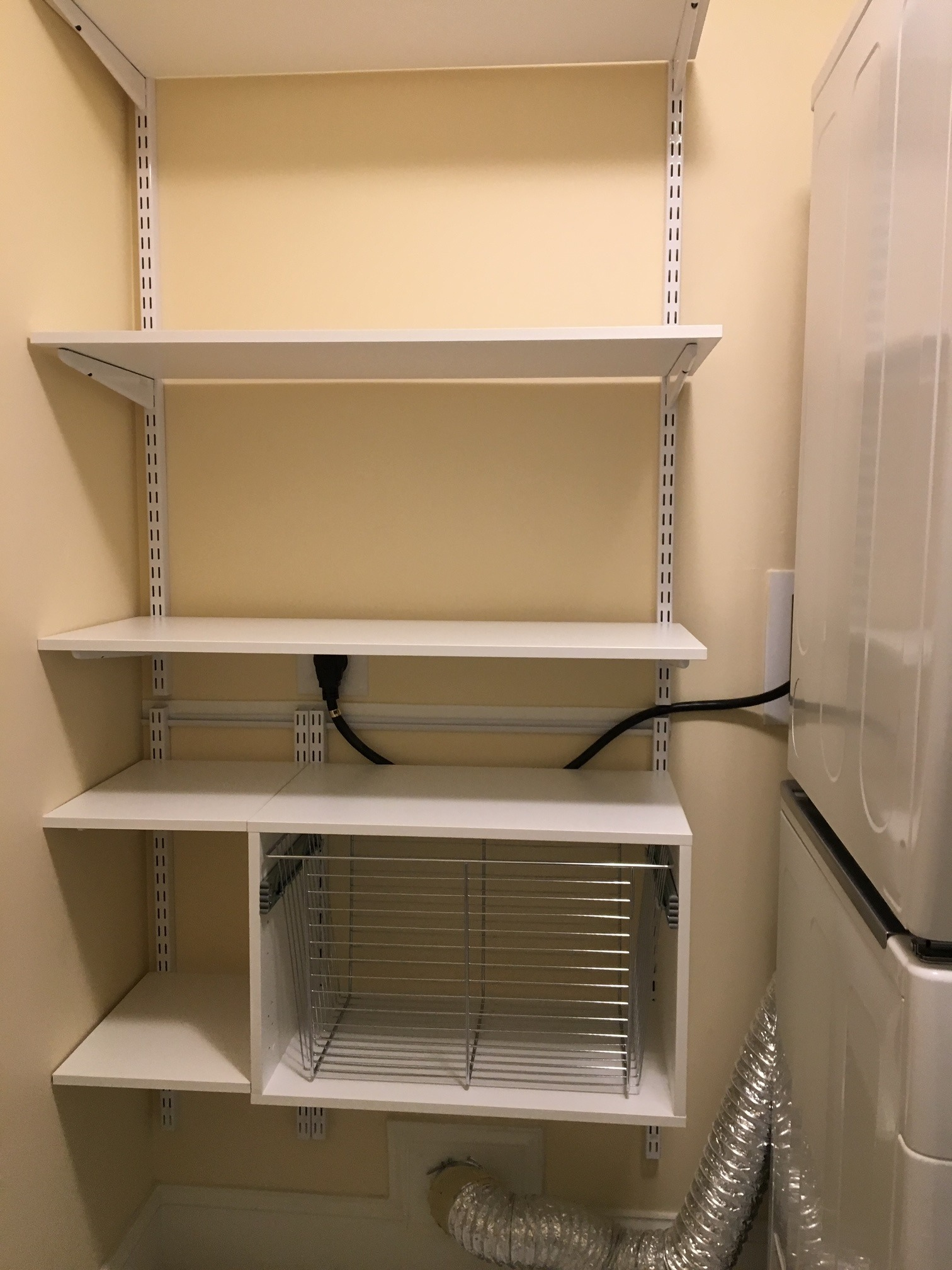 Freedom Rail in Laundry Room