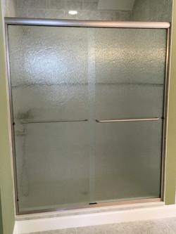 Semi-frameless Slider with Rain Glass &