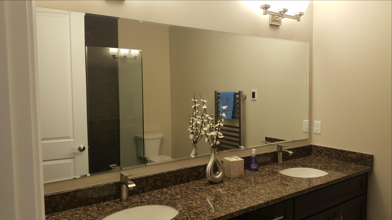 Large Beveled Mirror