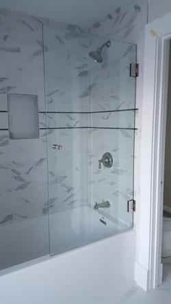 Operable Splash Panel