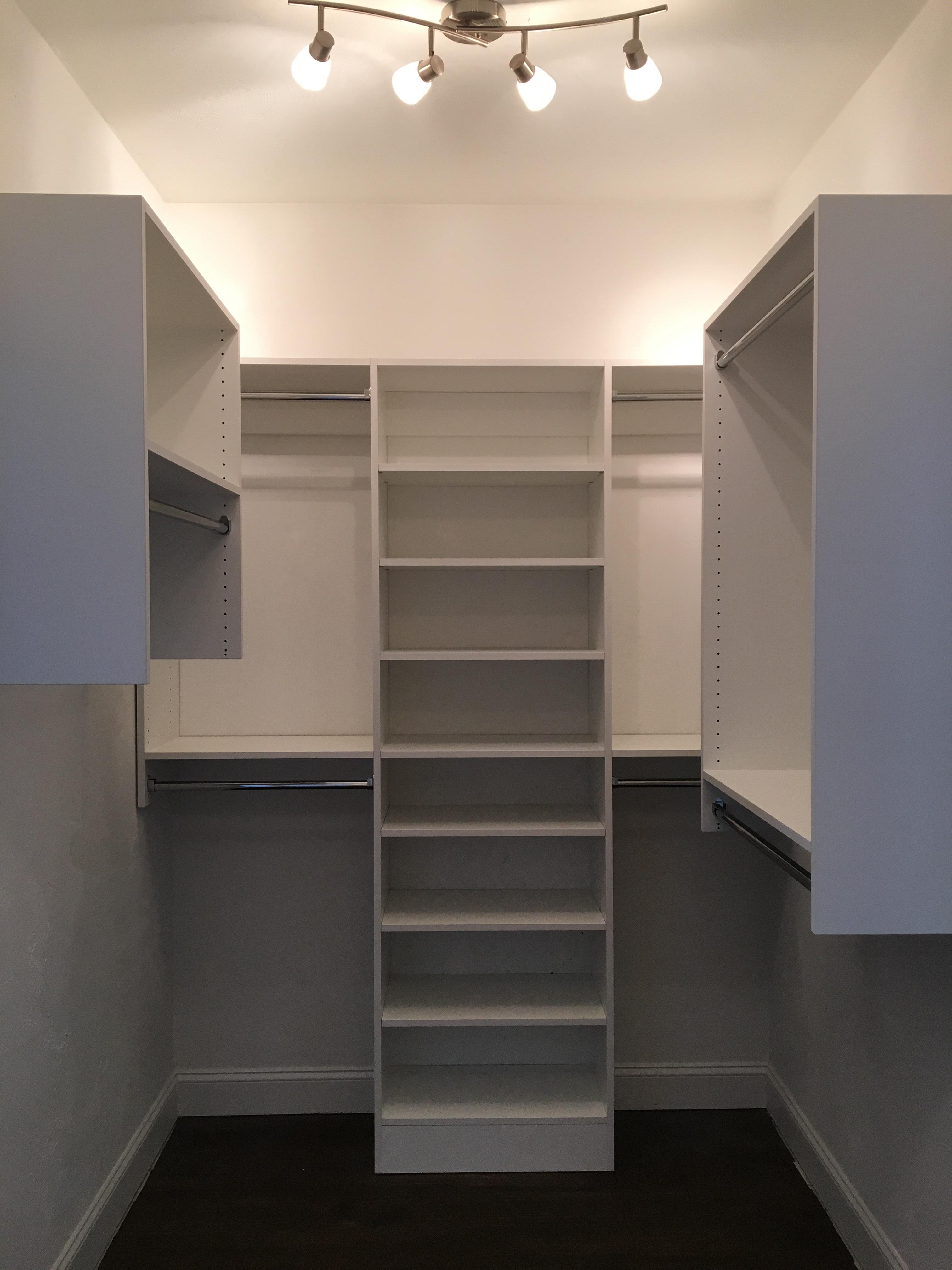 White Classica Wall Mounted Shelves