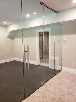 Glass Walls for Exercise Room