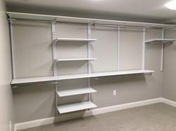 Double Hang with Shelves