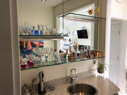 Plate Mirror for Bar